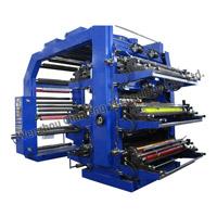 Impressora de impressão de impressora flexográfica / flexora de 6 cores de plástico