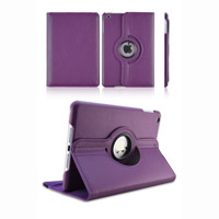 El cuero más nuevo de la PU caso giratorio del iPad de 360 grados para el caso del iPad