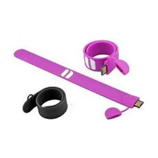 Palillo de alta velocidad del USB de la pulsera con la insignia modificada para requisitos particulares (WY-S16)
