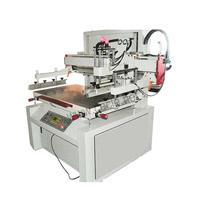 Impressora acrílica da tela de seda da placa do tamanho pequeno