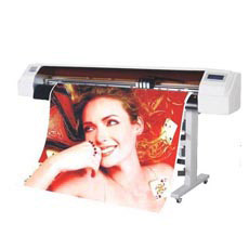 Digital Sublimation Printer for Textile, Fabric, Paper, Banner, Vinyl, Carpet, Mesh, PVC (Colorful 1604)