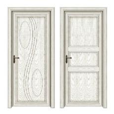 Porta de Madeira em Alumínio de Elegante Design (CL-D2016)