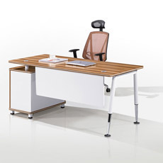 Mélaminés Chipboard Executive Desk (CF-D81606)