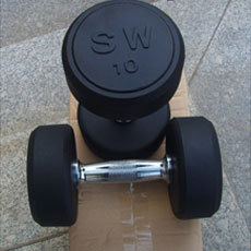 G / Dumbbell en caoutchouc fixe (FW-101)