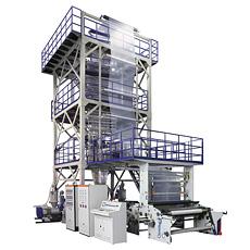 Trois à cinq couches Co-Extrusion Film machine de soufflage