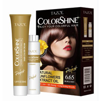 Tazol Colorshine Cor do cabelo