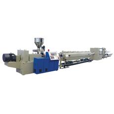 Tuyaux en plastique ligne d'extrusion / PVC de production de tubes d'extrusion machine