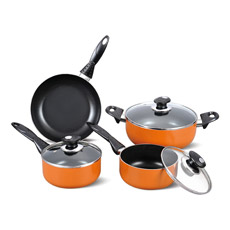 7PCS Cookware Non-Stick Pan (TZG-007)