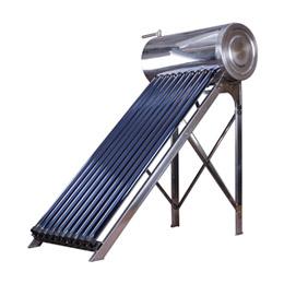 Compacta a presión pipa de calor del calentador de agua solar caliente