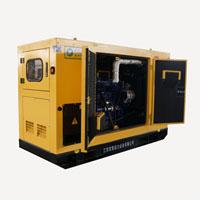 генератор 50Hz 113kVA звукоизоляционный тепловозный с Чумминс Енгине