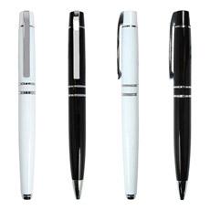 Presente de qualidade Metal Ball / Roller Pen com logotipo da empresa (LT-Y142)