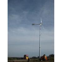 gerador das energias eólicas 10kw na planta da solução do sistema de grade completamente