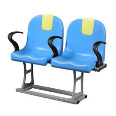 Assentos de Fixo Plástico para Estádio Esportivo Interior e Exterior de PP Moldado por Injeção