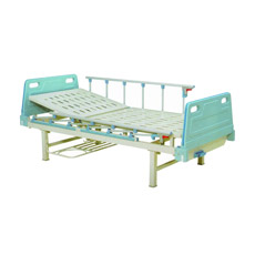 Mobília econômica do hospital, única cama médica manual aluída (B-1)