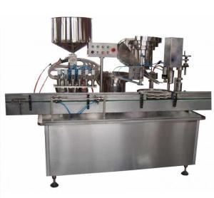 Ligne remplissante et de capsulage automatique de sauce/liquide/vin de machine