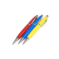 mecanismo impulsor colorido del flash del USB de la pluma del tacto del palillo de la memoria del USB del metal