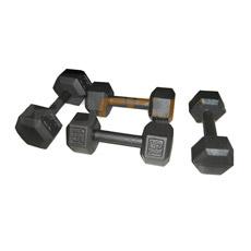 Black Heavy Dumbbell Hex (PC-DU3028-3036)