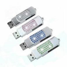 Cristalina Flash del USB de Manera Que Brilla el Conductor Pluma del USB (ES033)