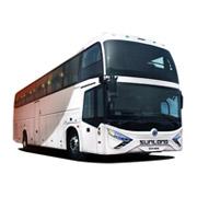 Autobús diesel del pasajero de Sunlong Slk6129ak