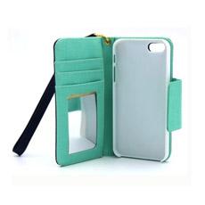Para IPhone 6 Plus Caja Tarjeta de Crédito Funda de Teléfono de PC + PU Cuero