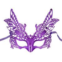 Máscara Handmade do partido do papel de polpa para a decoração da dança
