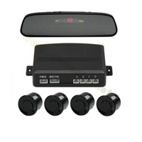 Carro Rear View Mirror Parking Sensor com LED/LCD Display Optional