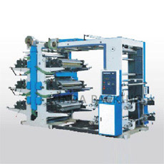 Impressora Flexográfica Flexível de 6 Cores