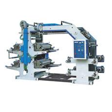 Máquina de impressão Flexo de 4 cores de 600 mm de largura (CE)
