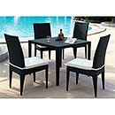 Indoor & Outdoor Wicker Dining Set