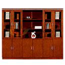 6 Doors Book Cabinet