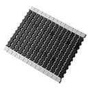 1400 Square Friction Top Modular Belts