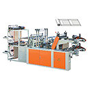 Two-Layer Vest-Flat Rolling Bag-Making Machine