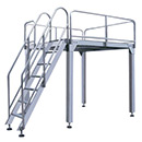 Support Platform (Carton Steel Frame)