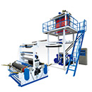 Single Screw Plastic Blowing Machine