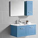 PVC Bathroom Cabinet with Ss Handles
