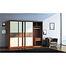 E1 Sliding Door MDF Bedroom Wardrobe