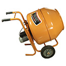 Horizontal Portable Concrete Mixer