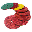 Wet Diamond Polishing Pad 4-7 Inch