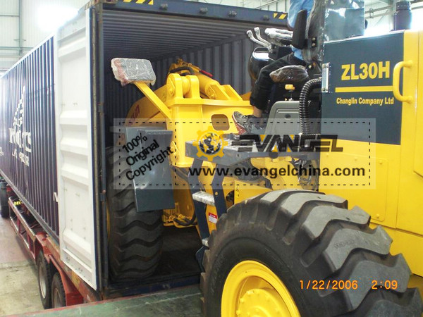 3 Tons Wheel Loader (Changlin ZL30H)