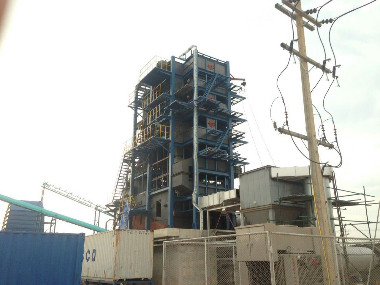 Hydro test starts for our BIOMASS STEAM BOILER in Thailand