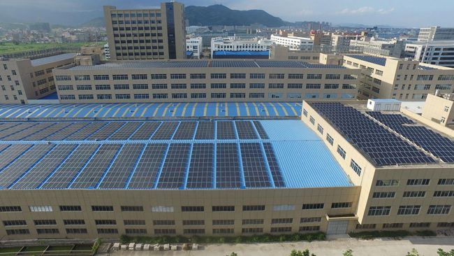 Distributed photovoltaic power generation systems