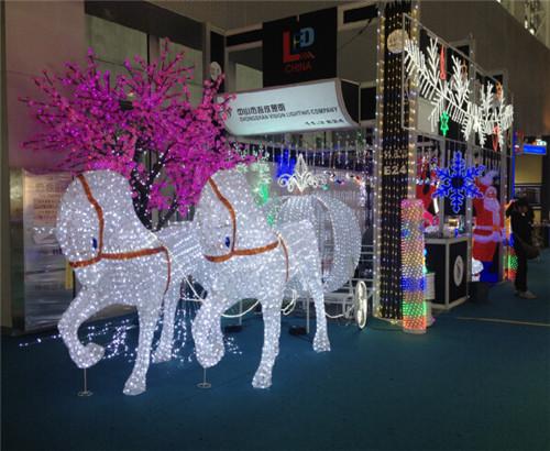 2014 GZ Canton Fair, Christmas Decoration Lights
