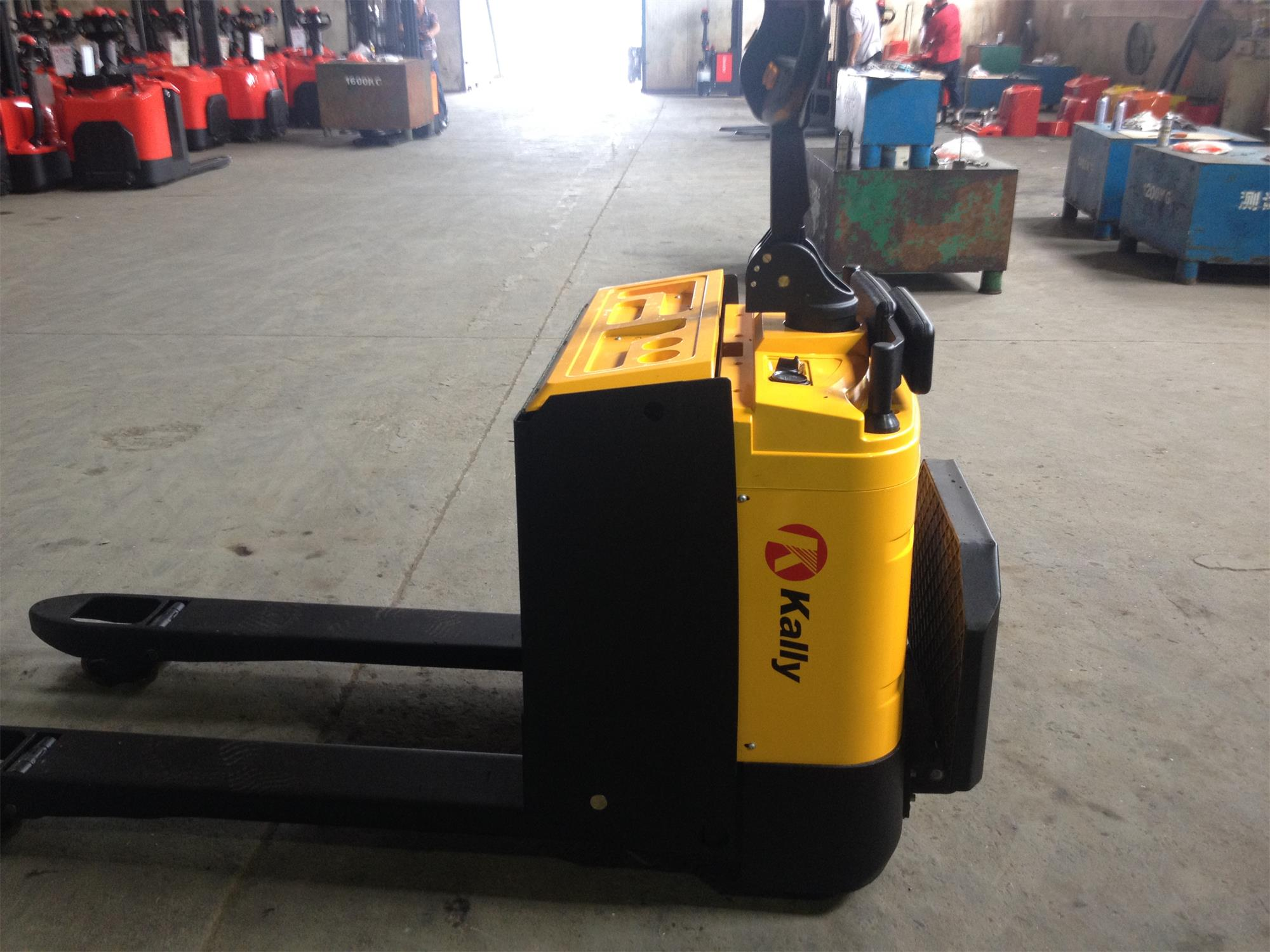 Battery Pallet Truck as customer's required color