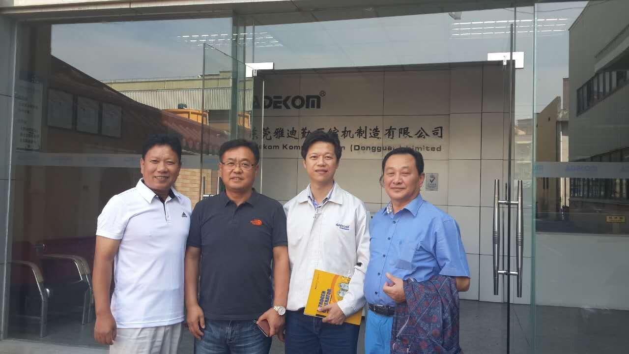 Korea Client Visit ADEKOM