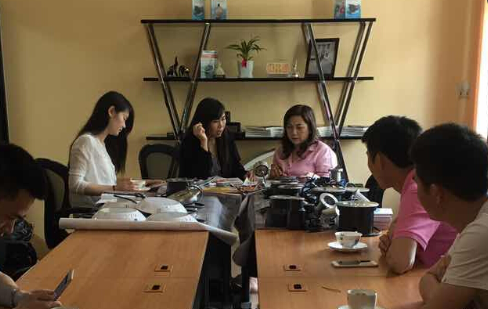 customer from Thailand visited our factory