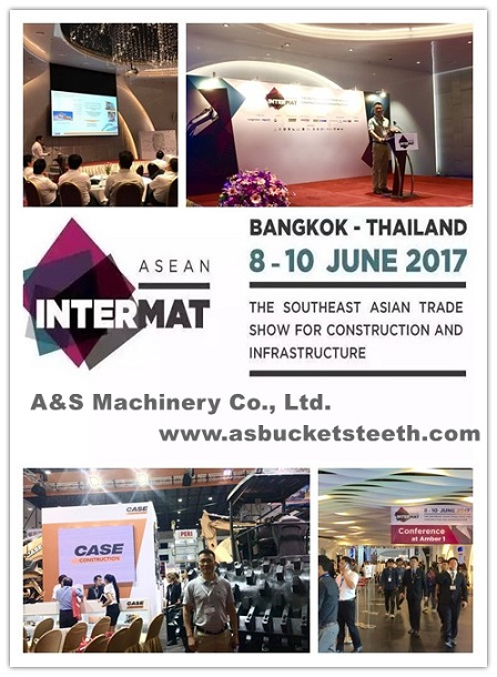 a&S MACHINERY at 2017 INTERMET ASEAN in BANGKOK THAILAND