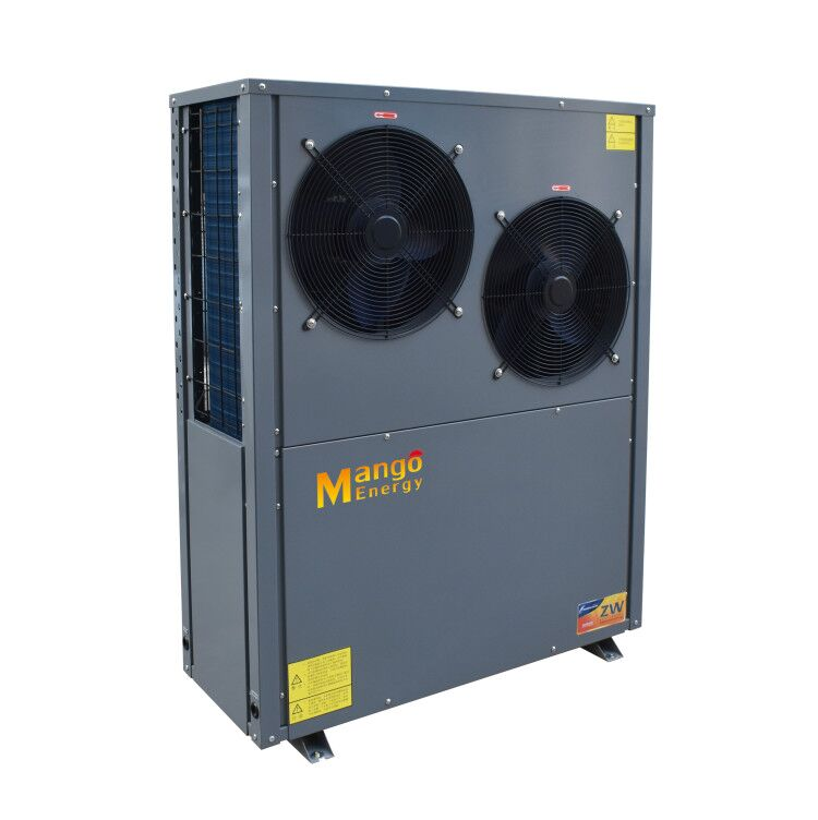 working at -25 degree and outlet 55-60 degree hot water Air to water heat pump
