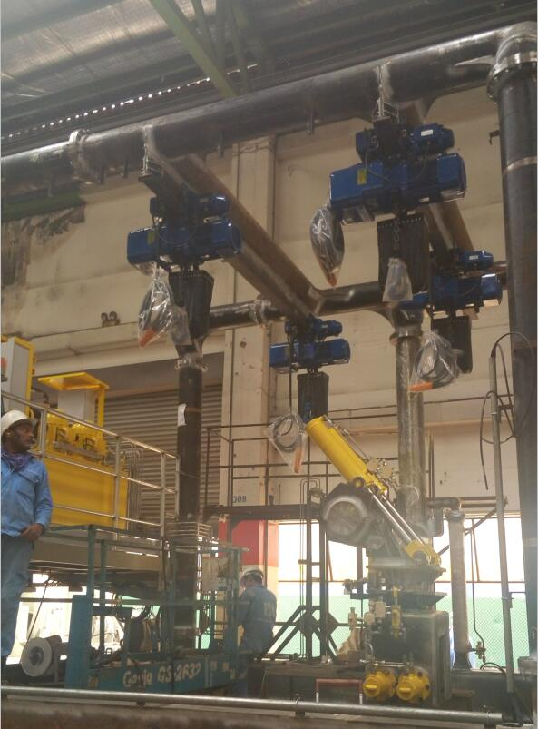 ER2 Electric Chain Hoist for Singapore Government Project