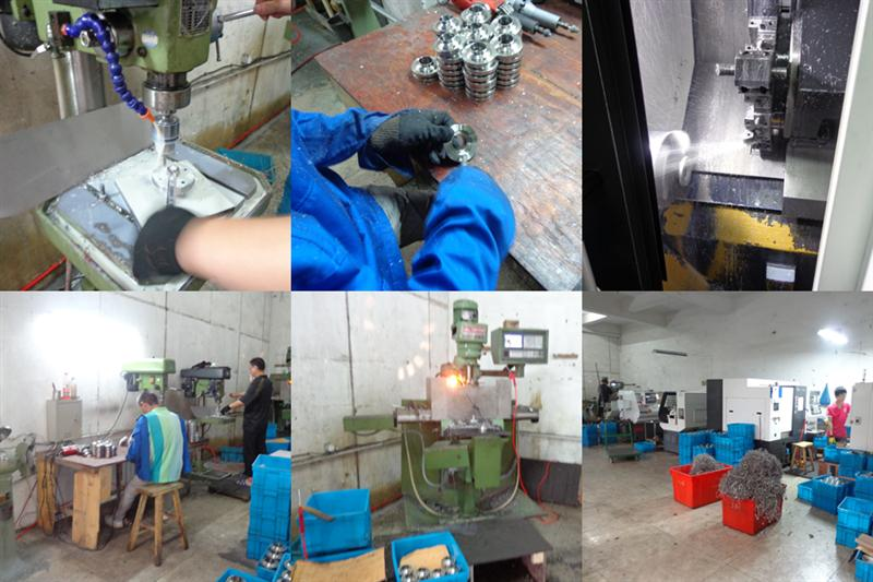 OEM product processing for food grade butterfly valve and fittings
