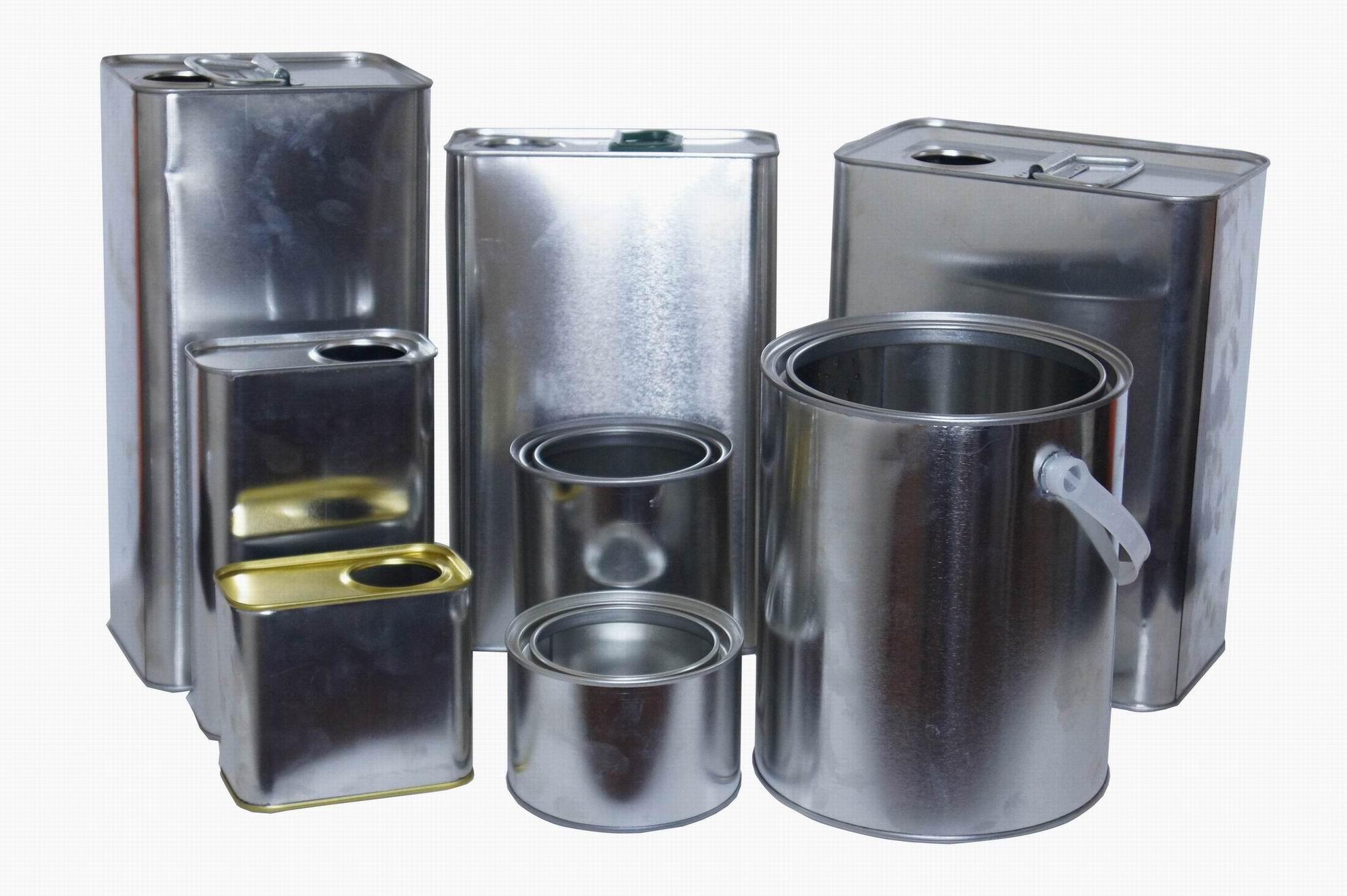 0.25L-5L paint metal cans